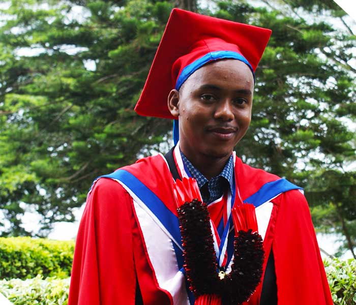 Anthony Pius Chuwa - Best Student